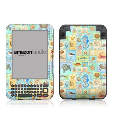 Kindle Keyboard Skin - By The Shore