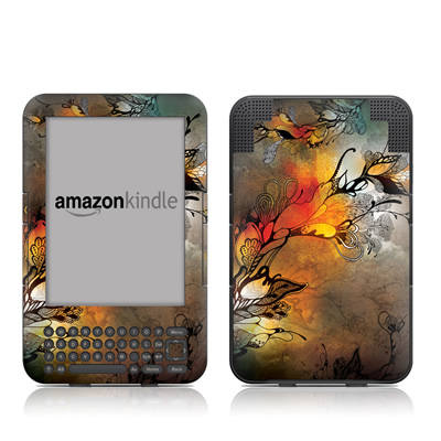 Kindle Keyboard Skin - Before The Storm