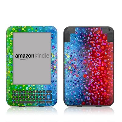 Kindle Keyboard Skin - Bubblicious