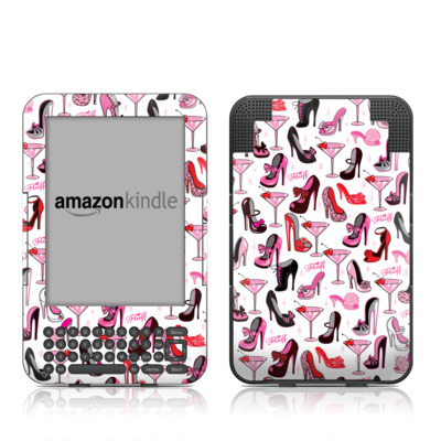 Kindle Keyboard Skin - Burly Q Shoes