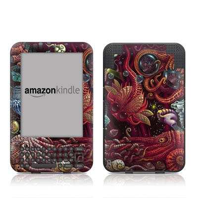 Kindle Keyboard Skin - C-Pods