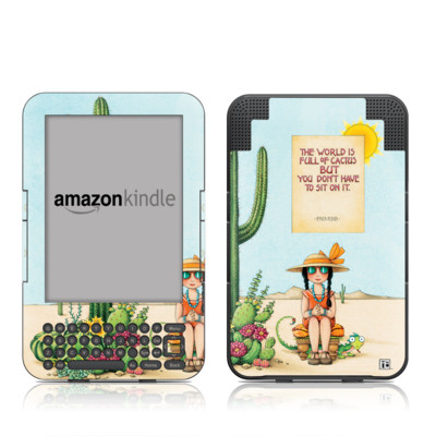 Kindle Keyboard Skin - Cactus