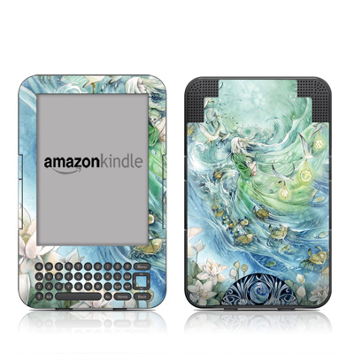 Kindle Keyboard Skin - Cancer