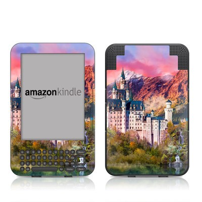 Kindle Keyboard Skin - Castle Majesty