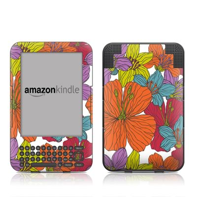 Kindle Keyboard Skin - Cayenas