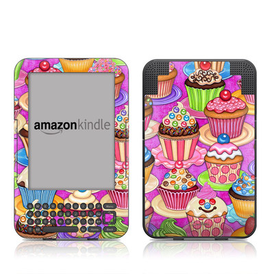 Kindle Keyboard Skin - Cupcake