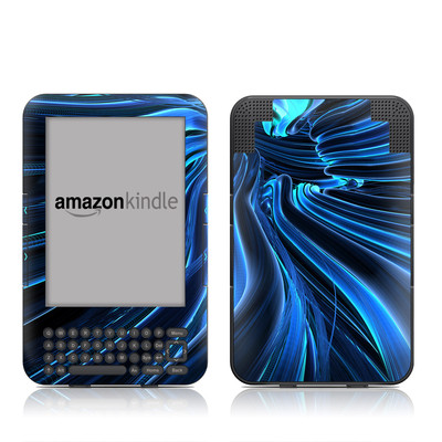 Kindle Keyboard Skin - Cerulean
