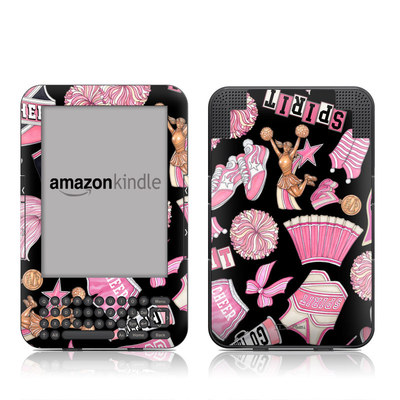 Kindle Keyboard Skin - Cheerleader