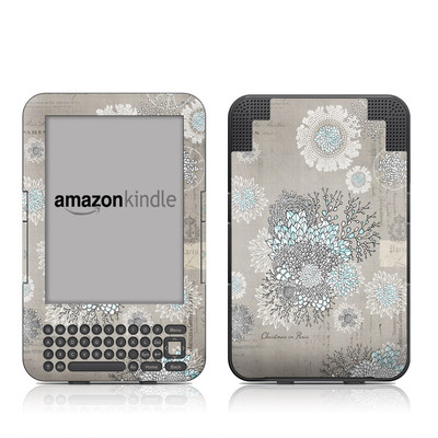 Kindle Keyboard Skin - Christmas In Paris