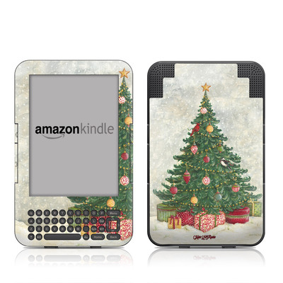 Kindle Keyboard Skin - Christmas Wonderland