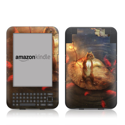 Kindle Keyboard Skin - Columbus