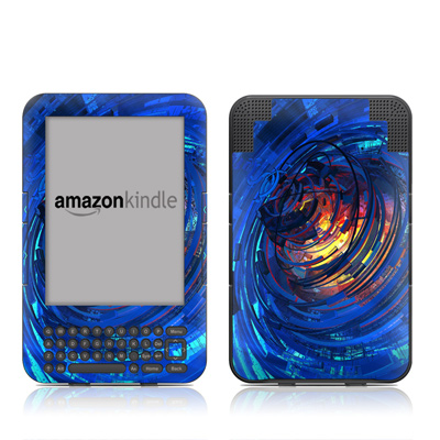 Kindle Keyboard Skin - Clockwork