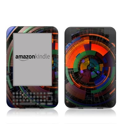 Kindle Keyboard Skin - Color Wheel