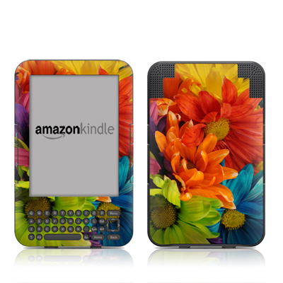 Kindle Keyboard Skin - Colours