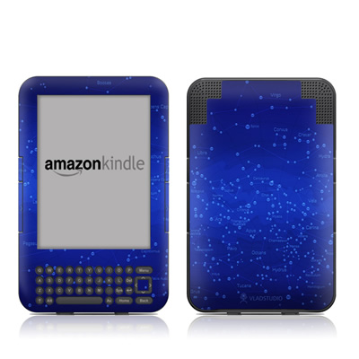 Kindle Keyboard Skin - Constellations
