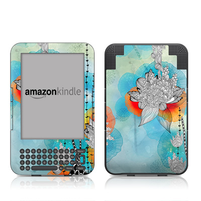 Kindle Keyboard Skin - Coral