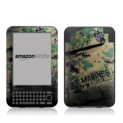 Kindle Keyboard Skin - Courage