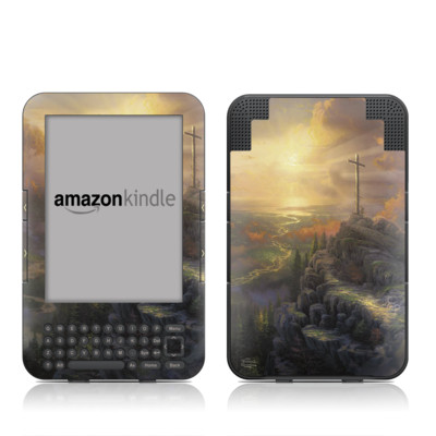 Kindle Keyboard Skin - The Cross