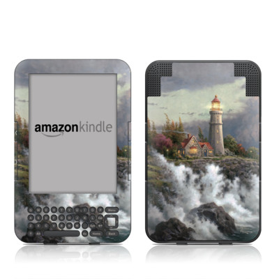 Kindle Keyboard Skin - Conquering Storms