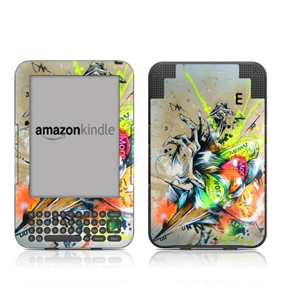 Kindle Keyboard Skin - Dance