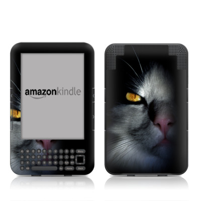 Kindle Keyboard Skin - Darkness