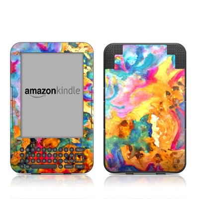 Kindle Keyboard Skin - Dawn Dance