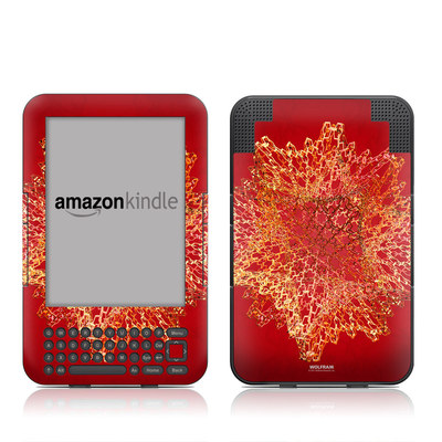 Kindle Keyboard Skin - Dodecahedron Cage