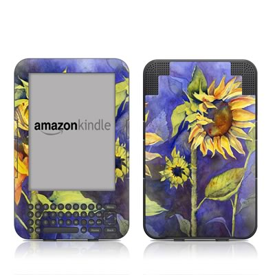 Kindle Keyboard Skin - Day Dreaming