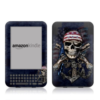 Kindle Keyboard Skin - Dead Anchor