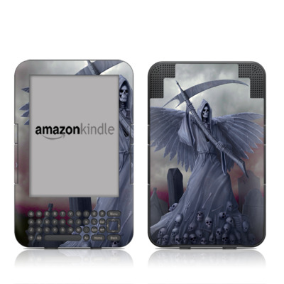 Kindle Keyboard Skin - Death on Hold