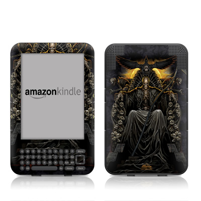 Kindle Keyboard Skin - Death Throne