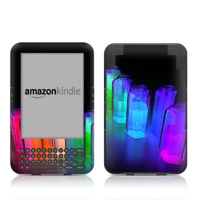 Kindle Keyboard Skin - Dispersion