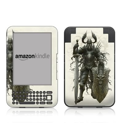 Kindle Keyboard Skin - Dark Knight
