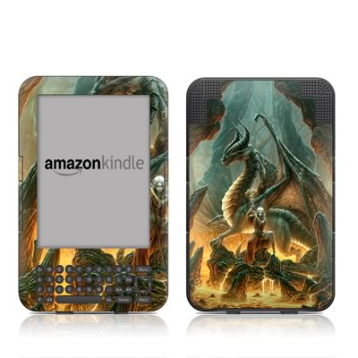Kindle Keyboard Skin - Dragon Mage