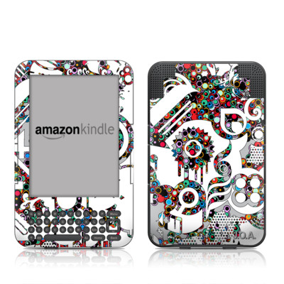 Kindle Keyboard Skin - Dots
