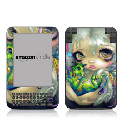 Kindle Keyboard Skin - Dragonling