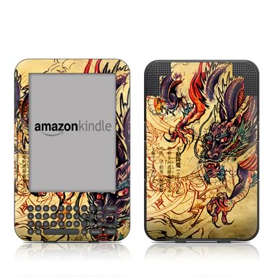 Kindle Keyboard Skin - Dragon Legend