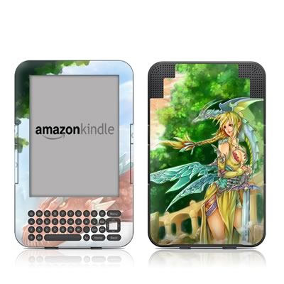 Kindle Keyboard Skin - Dragonlore
