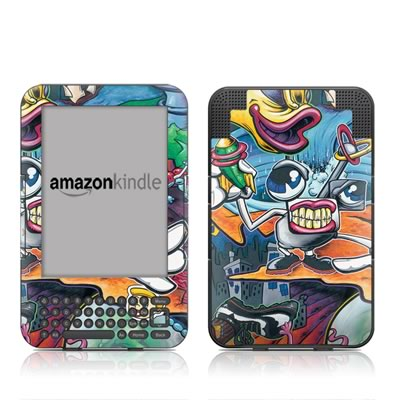 Kindle Keyboard Skin - Dream Factory