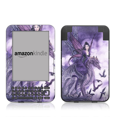 Kindle Keyboard Skin - Dragon Sentinel