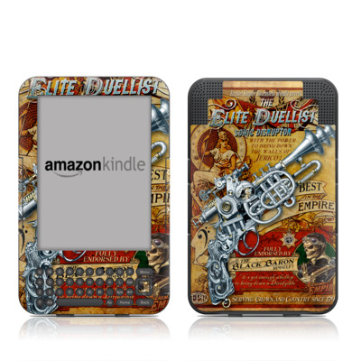 Kindle Keyboard Skin - The Duelist