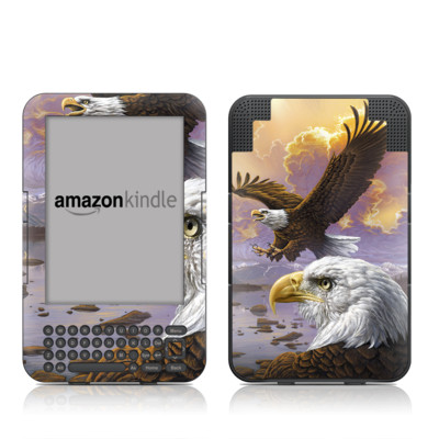 Kindle Keyboard Skin - Eagle