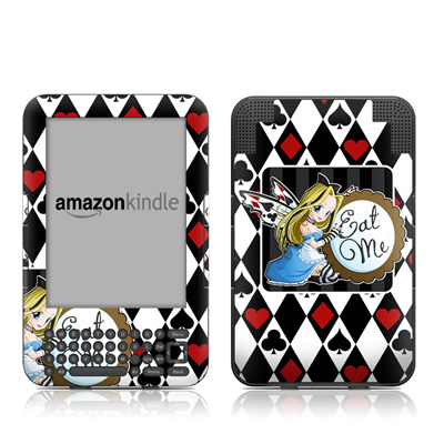 Kindle Keyboard Skin - Eat Me