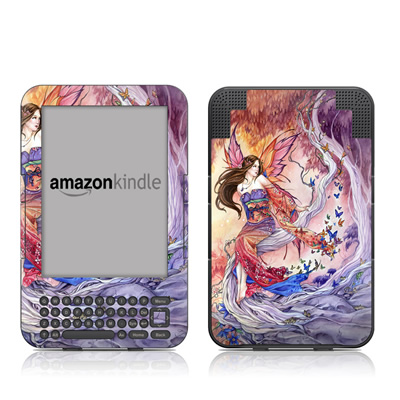 Kindle Keyboard Skin - The Edge of Enchantment