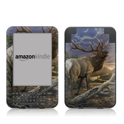 Kindle Keyboard Skin - Elk