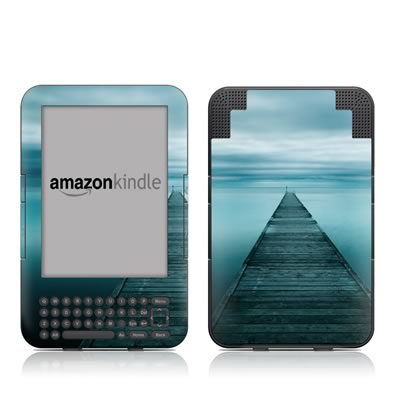 Kindle Keyboard Skin - Evening Stillness