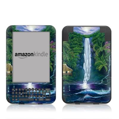 Kindle Keyboard Skin - In The Falls Of Light