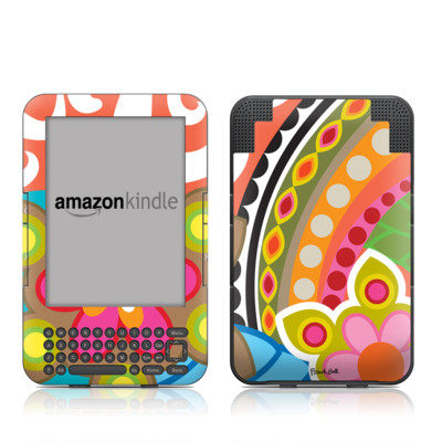 Kindle Keyboard Skin - Fantasia