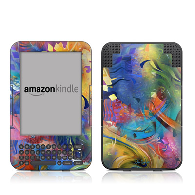 Kindle Keyboard Skin - Fascination