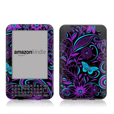 Kindle Keyboard Skin - Fascinating Surprise